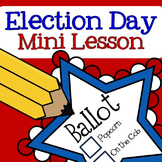 FREE Election Day Mini Lesson