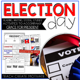 Presidential Election Day 2020 Pack (Reading/Writing/Social Studies)