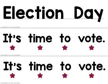 Election Day Poem & Reader Pack