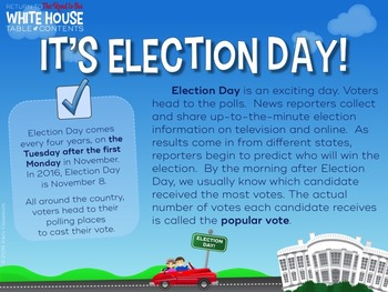 Presidential Election Slideshow (Includes Presidential Inauguration Day)
