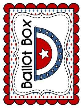 Election Day Printables