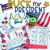 My Teacher / Duck for President Read-Aloud Compare Contrast Lesson, Election Day