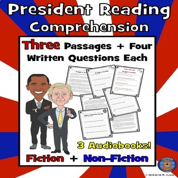 Election Day Reading Comprehension: President Reading Comprehension: Paired Text