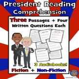 President Reading Comprehension: President Reading Activity: Paired Text