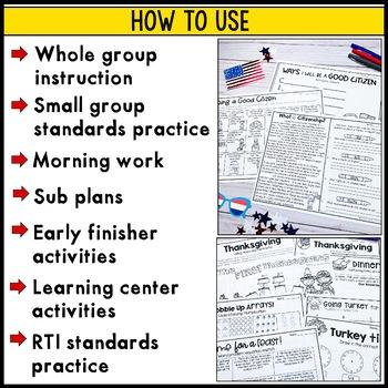 Election Day, Veteran's Day, Thanksgiving: November-themed printables