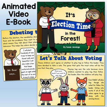 Election Day: Video E-Book and Printables Pack