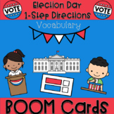 Election Day Vocabulary, BOOM ™ Cards