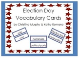 Election Day Vocabulary Cards