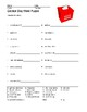 Election Day Word Search and Vocabulary Word Puzzle Worksheets