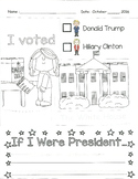 Election Day 2016 HILARY VS TRUMP Lesson/ Worksheet