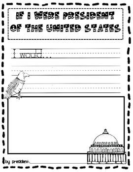 Election Day Writing Activity for Early Elementary Students