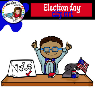 Election Day clip art. Free!!