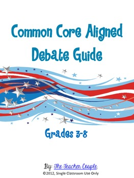 Election Debate Guide - Common Core Aligned