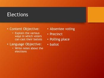 Election Details
