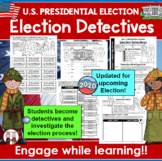 2020 President Election and Election Day Activities