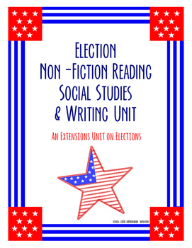 Election Differentiation Lesson Plans, Worksheets, Ticket Out the Door, & More!