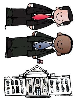 Election Fun Freebie #2 Congratulations Mr. President Letter Writing