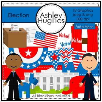 Election Clipart {A Hughes Design}