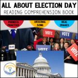Election Day Emergent Reader for First Grade|Distance Learning