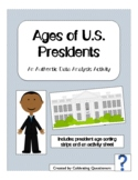 Election Math: Ages of the Presidents Data Analysis