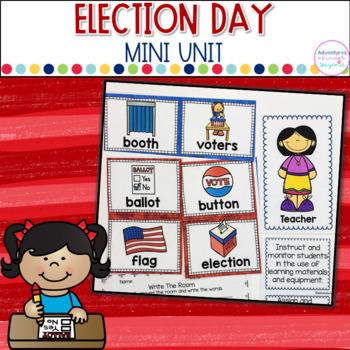 Election Mini Unit and Flip Book
