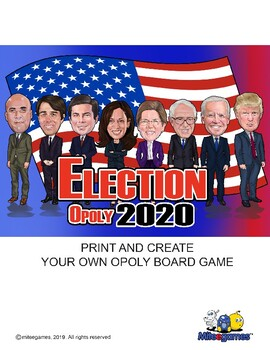Election Opoly 2020 (monopoly)