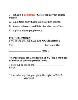 Election Quiz