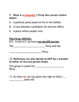 Election Quiz
