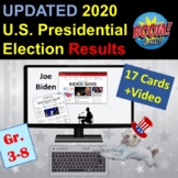 Election RESULTS UPDATED   Boom Cards   2020 US Presidenti