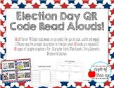 Election Read Aloud QR Codes & Graphic Organizers