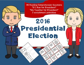 Election - Reading Comprehension - social studies activities - K-2