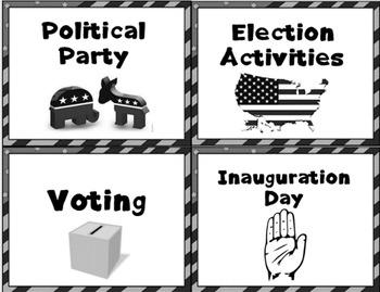 Election - Reading Comprehension - social studies activities - K-2