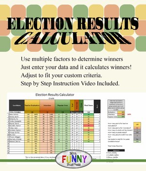 Election Results Calculator - Student Government
