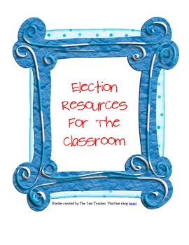 Election Supplemental Materials for Elementary