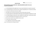 Election Term Quiz