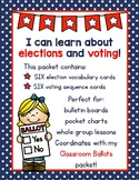 Election Terms and Sequence Cards for Little Learners