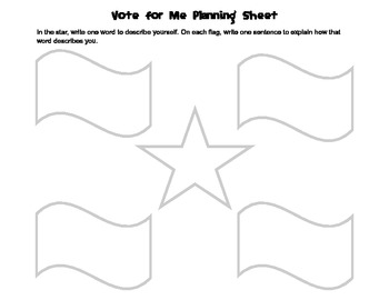 Election Themed Writing Activity