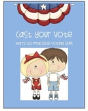 Election Time So Cast Your Vote