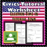 Election Time in Tutorial Town Civics Worksheet SS.7.C.2.7- Mock Election