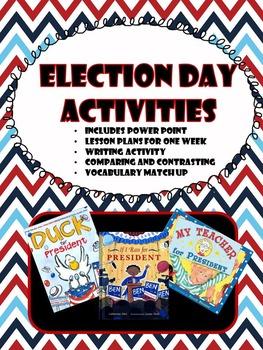 President's/Election Unit...FUN WEEK LONG ELECTION UNIT