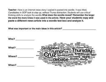 Election: Using wordle!