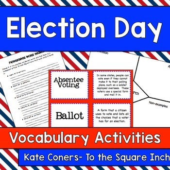 Election Day Vocabulary