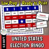 Election Vocabulary Bingo