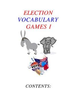 Election Vocabulary Games Part I