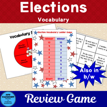 Election Vocabulary Review Games