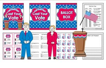 Election - Vote - Cast Your Ballot