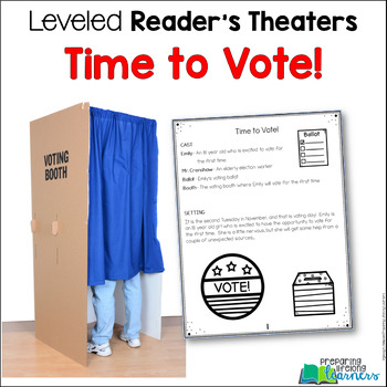 Election/Voting Leveled Reader's Theater {FREE}