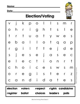 Election/Voting Packet