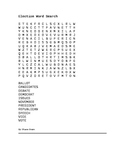 Election Word Search