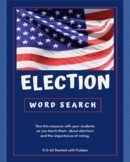 Election Word Search - FREE